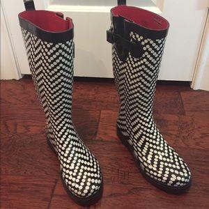 Rain Boots - women's size 6